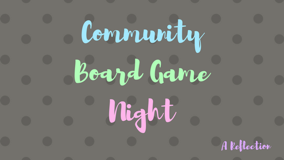 Community Board Game Night